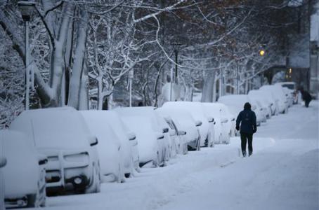 USA - Nowy Jork czeka prawdopodobnie na największą w historii burze śnieżną 2