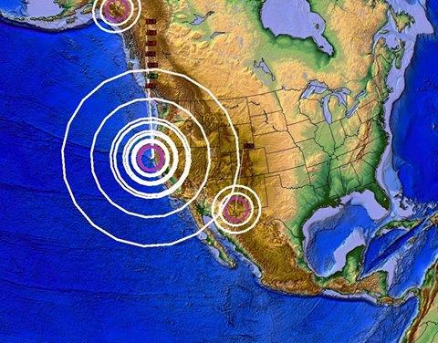 USA - Trzęsienie ziemi o sile 5.7 u wybrzeży Kalifornii