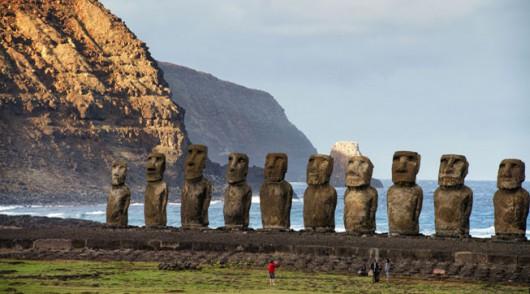 Wyspa Wielkanocna, moai 2
