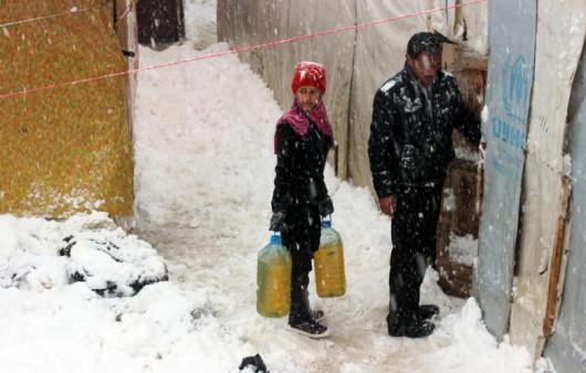 Zima dotarła na Bliski Wschód 1
