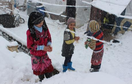 Zima dotarła na Bliski Wschód 2