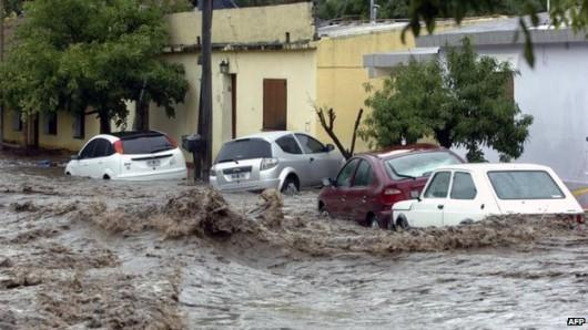 Argentyna - Ulewne deszcze i powódź w środkowej części kraju 2