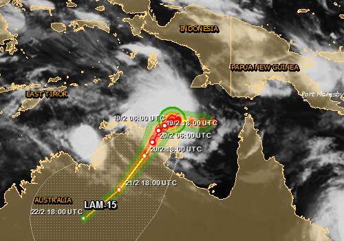 Australia - Cyklon Lam