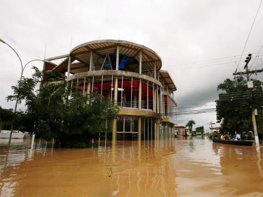 Boliwia - Tegoroczna pora deszczowa zabiła już 25 osób 2