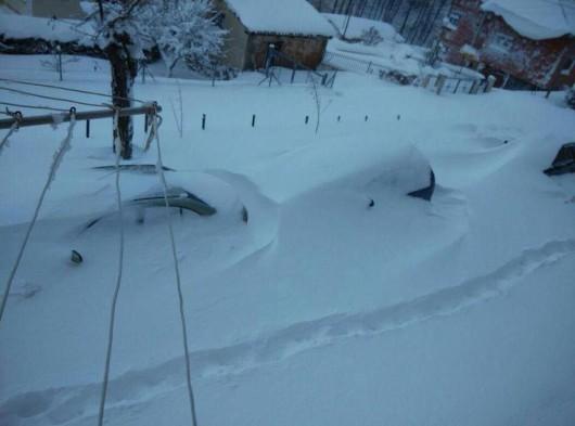 Bułgaria pod śniegiem 2