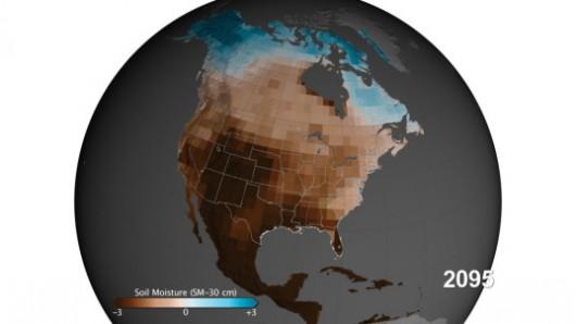 Centralnym równinom i południowemu zachodowi Stanów Zjednoczonych mogą grozić wielkie susze