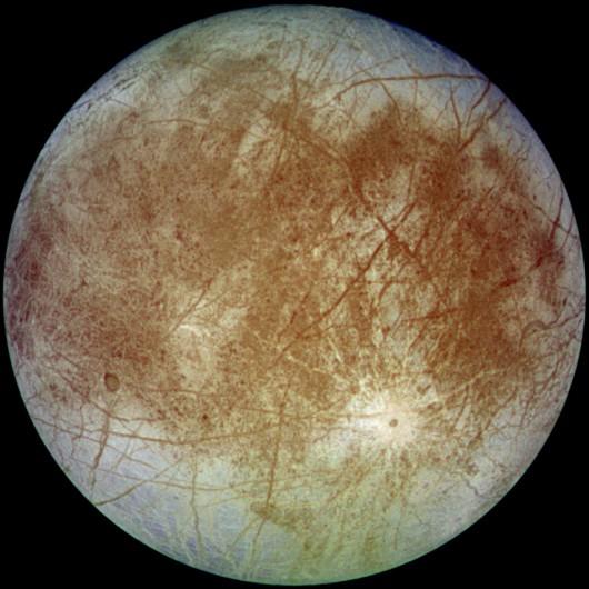 Europa - ksieżyc Jowisza