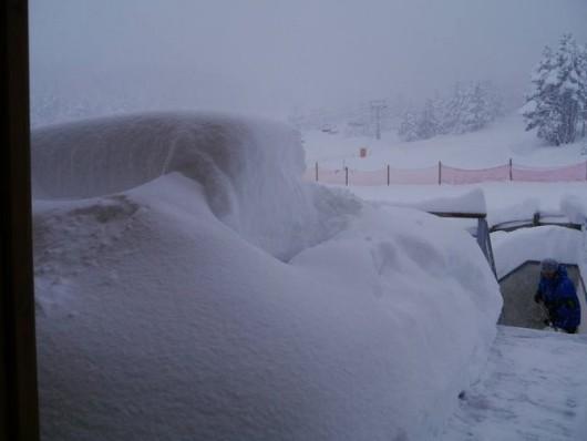 Hiszpania - Śnieg