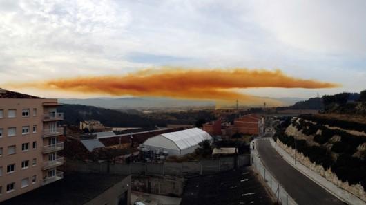 Hiszpania - Toksyczna chmura nad Igualada 1
