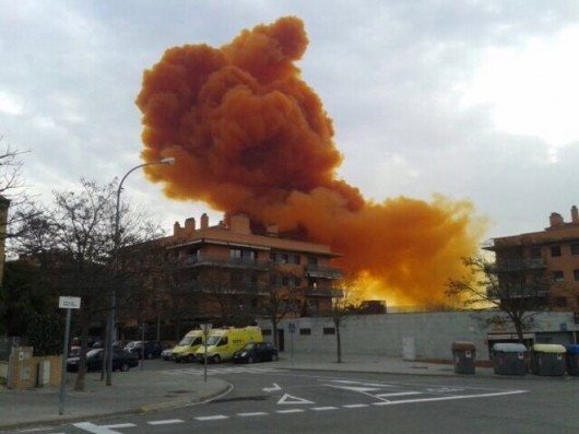 Hiszpania - Toksyczna chmura nad Igualada 2