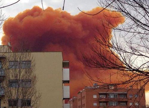 Hiszpania - Toksyczna chmura nad Igualada 4