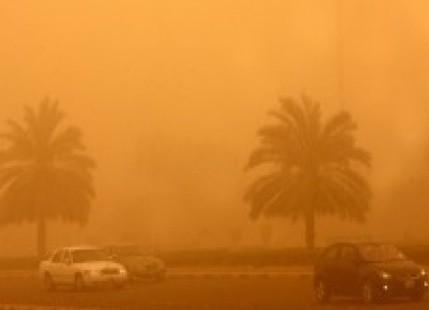 Izrael - Na lądzie burza piaskowa, na morzu 6 metrowe fale 3