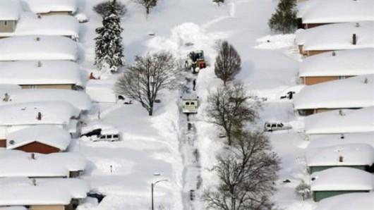 Japonia - Śnieg zasypał wyspę Hokkaido, spadły prawie 2 metry białego puchu 1