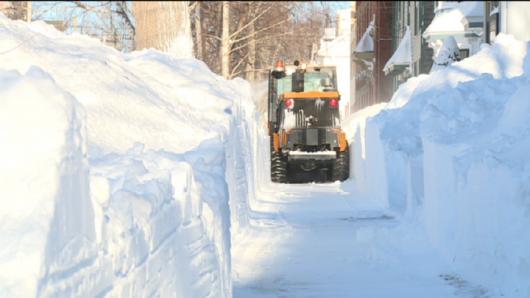 Kanada - Ogromne ilości śniegu na Wyspie Księcia Edwarda 2