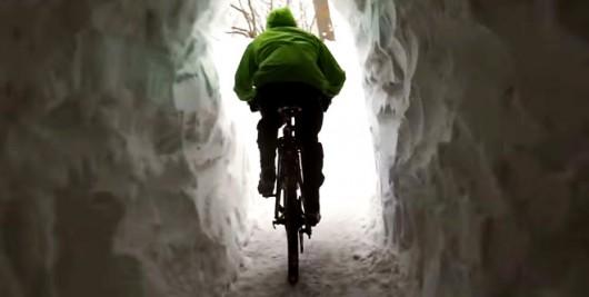 Kanada - Ogromne ilości śniegu na Wyspie Księcia Edwarda 3