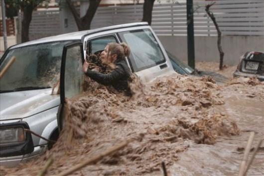 Macedonia - Powódź