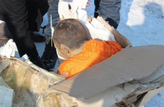 Medytujący mnich znaleziony w Mongolii 3