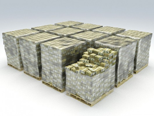 Tak wygląda miliard dolarów