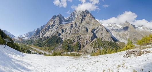 Mont Blanc, Źródło: wikimedia.org