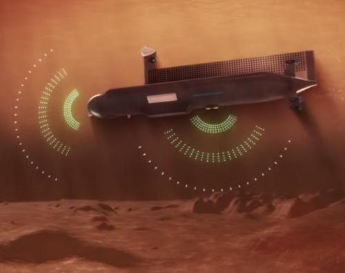 NASA planuje po 2040 roku wysłać mały okręt podwodny z napędem atomowym na Tytan, księżyc Saturna 3