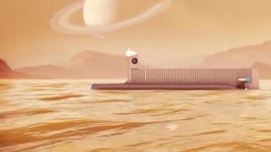 NASA planuje po 2040 roku wysłać mały okręt podwodny z napędem atomowym na Tytan, księżyc Saturna 4