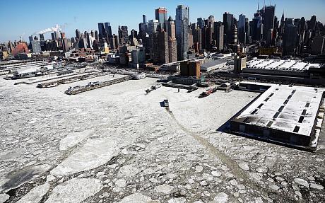 Rekord temperatury - Nowy Jork