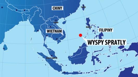 Ropa i gaz pod dnem morskim w rejonie archipelagu Spratly to przedmiot sporu kilku azjatyckich krajów