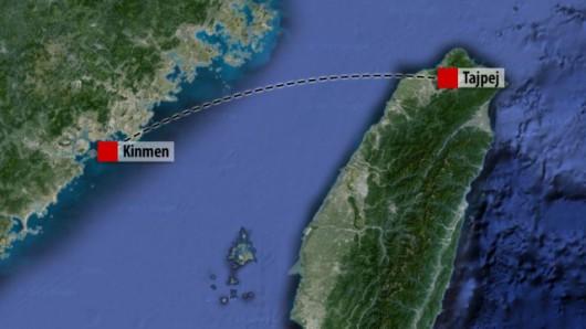Samolot leciał z Tajpej (Tajwan) na archipelag Kinmen