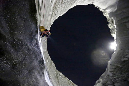 Syberia, Rosja - Oprócz czterech ogromnych kraterów, pojawiło się 20 mniejszych 12