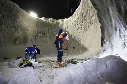 Syberia, Rosja - Oprócz czterech ogromnych kraterów, pojawiło się 20 mniejszych 15