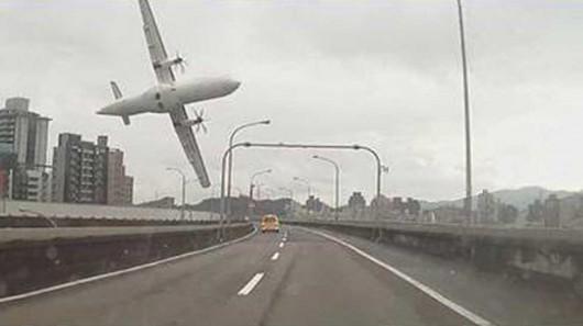 Tajwan - W Tajpej zaraz po starcie rozbił się samolot linii TransAsia z 58 osobami na pokładzie 5