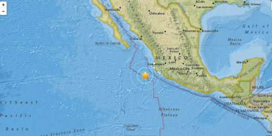 Trzęsienie ziemi - Meksyk