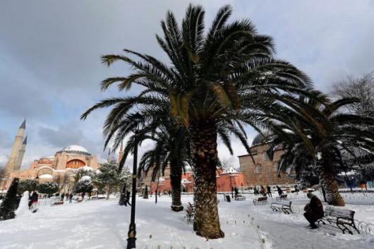 Turcja - Śnieżyce sparaliżowały Stambuł, pobiły został rekord sprzed 28 lat 2