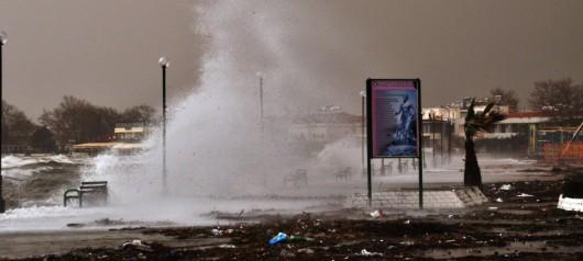 Turcja - Nagłe załamanie pogody i potężna burza 1