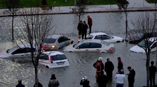 Turcja - Nagłe załamanie pogody i potężna burza 2