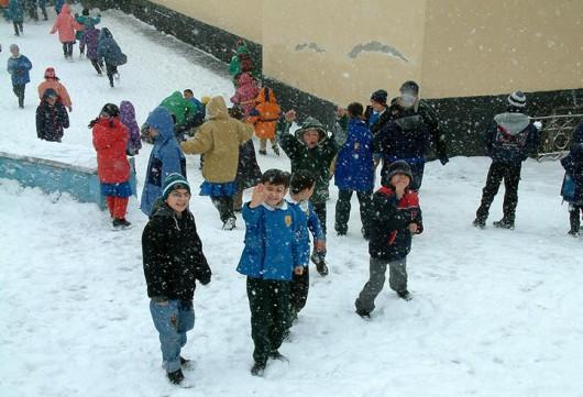 Turcja - Stambuł pod śniegiem 1
