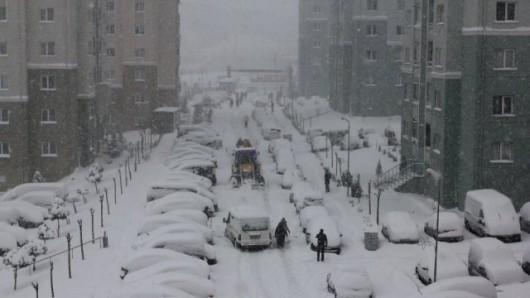 Turcja - Stambuł pod śniegiem 2