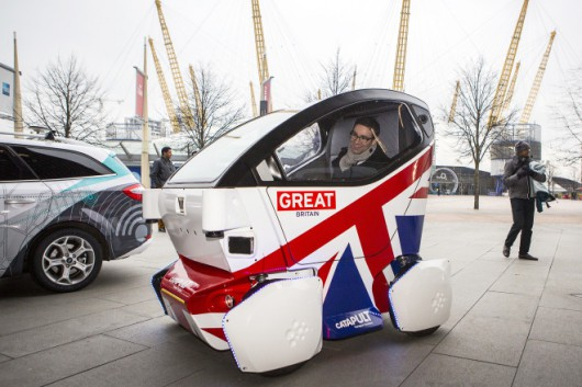 BRITAIN-TRANSPORT-DRIVERLESS CAR