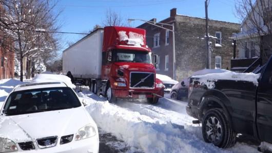 USA - Śnieg sypie w Chicago 1