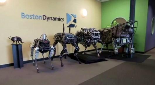 USA - Boston Dynamics prezentuje robota kroczącego