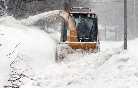 USA - Kolejna śnieżyca na północnym-wschodzie kraju 4