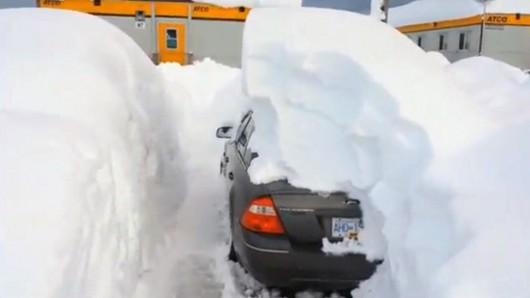 USA - Kolejna śnieżyca na północnym-wschodzie kraju 5