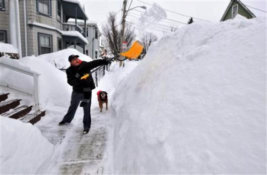 USA - Kolejne śnieżyce nadchodzą od Wielkich Jezior 2