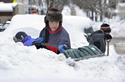 USA - Kolejne śnieżyce nadchodzą od Wielkich Jezior