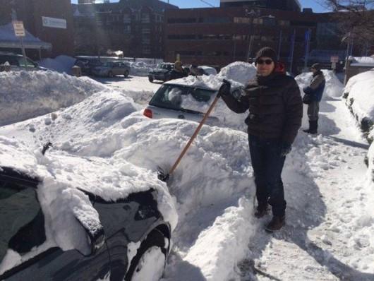USA - Kolejne śnieżyce z burzy śnieżnej Octavia
