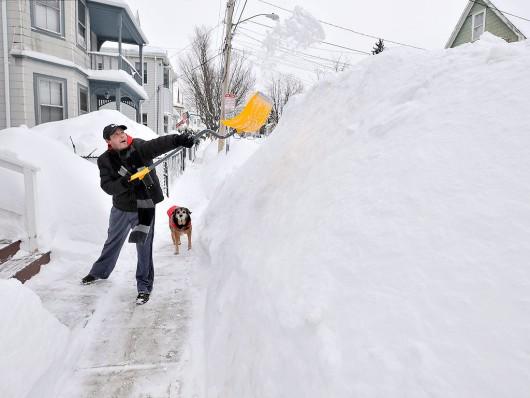 USA - Tego jeszcze nie było, szósta śnieżyca w niecały miesiąc 1