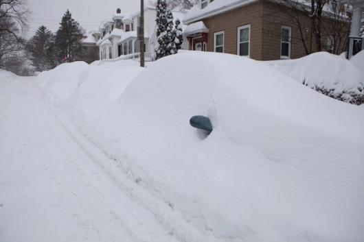 USA - Tego jeszcze nie było, szósta śnieżyca w niecały miesiąc 2