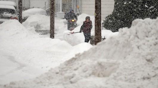 USA - Z powodu śnieżycy zginęło 10 osób 2
