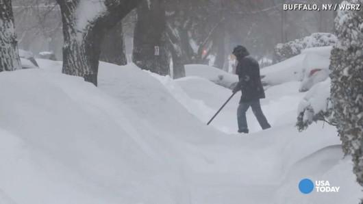 USA - Z powodu śnieżycy zginęło 10 osób 3