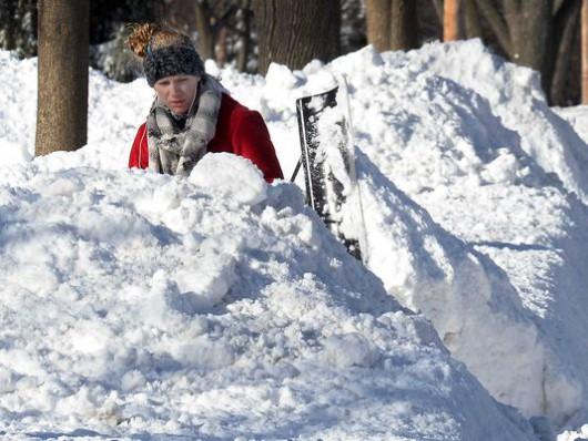 USA - Z powodu śnieżycy zginęło 10 osób 4